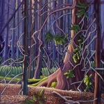 The Silent Folk of the Forest by Virginia Boulay ©