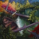 Paddle Pilgrim by Virginia Boulay ©