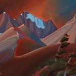 Parker's Ridge by Virginia Boulay ©